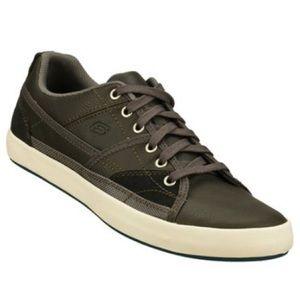 SKECHERS- wide Relaxed Fit: Planfix - Romelo, memory foam lace up sneaker shoe.